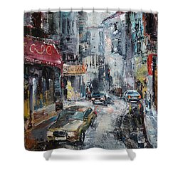 The Old District Shower Curtain