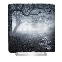 The Old Forest Shower Curtain