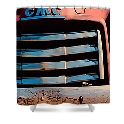 The Old Gmc At Pilar Shower Curtain