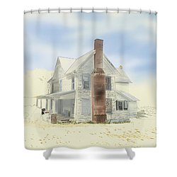 The Home Place - Silent Eyes Shower Curtain