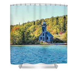The Old Light House Shower Curtain