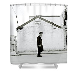 The Old Man Of Mea Shearim Shower Curtain by Shaun Higson