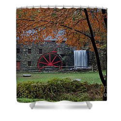 The Old Mill New England  Shower Curtain
