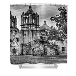 The Old Mission Shower Curtain