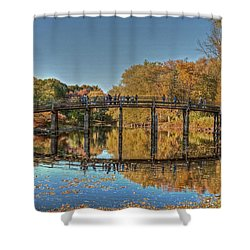 The Old North Bridge Shower Curtain