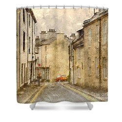 Shower Curtain featuring the photograph The Old Part Of Town by LemonArt Photography