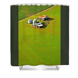 The Old Place Shower Curtain