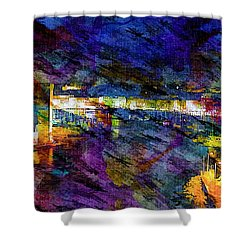 The Old Port Marseille 1 Shower Curtain