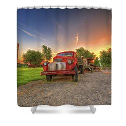 Country Treasure Shower Curtain