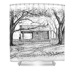 The Old Richardson Place Shower Curtain