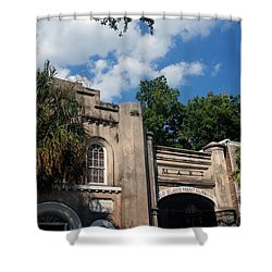 The Old Slave Market Museum In Charleston Shower Curtain by Susanne Van Hulst