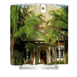 The Old Sunset House. Shower Curtain