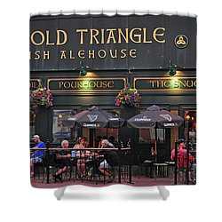 The Old Triangle Alehouse Shower Curtain