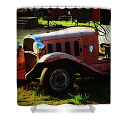 The Oldtimer Shower Curtain
