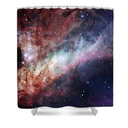 Shower Curtain featuring the photograph The Omega Nebula by Eso