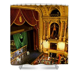 The Opera House Of Budapest Shower Curtain by Madeline Ellis
