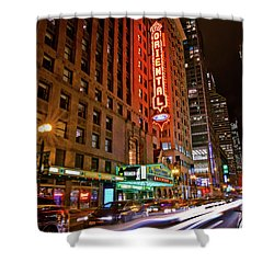 The Oriental Theater Chicago Shower Curtain