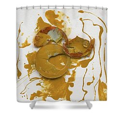 The Original Ancient Warrior Shower Curtain