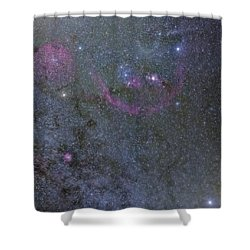 The Orion Complex Shower Curtain