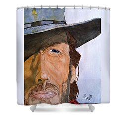 The Outlaw Josey Wales Shower Curtain