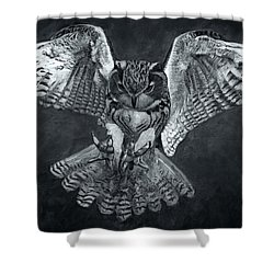 The Owl 2 Shower Curtain