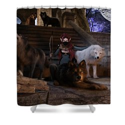 The Pack Shower Curtain