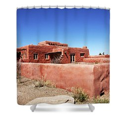 The Painted Desert Inn Shower Curtain