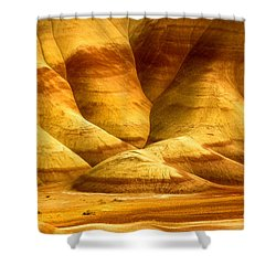 The Painted Hills Shower Curtain