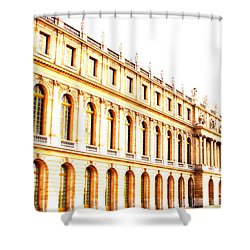 The Palace Shower Curtain by Amanda Barcon