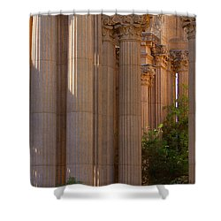 The Palace Columns Shower Curtain