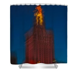 The Palace Of Culture And Science Shower Curtain