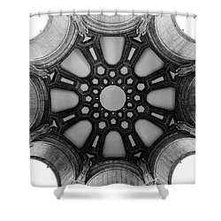 The Palace Of Fine Arts Dome Shower Curtain
