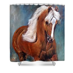 The Palomino 2 Shower Curtain