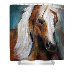 The Palomino I Shower Curtain