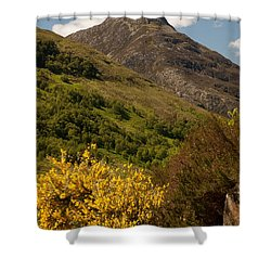 The Pap Of Glencoe Shower Curtain