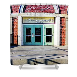 Shower Curtain featuring the photograph The Paramount Theatre by Colleen Kammerer