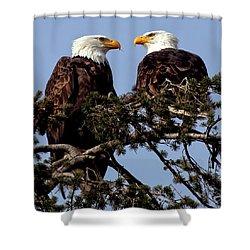 The Parents Shower Curtain