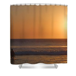 The Passenger Summer Shower Curtain by Beto Machado