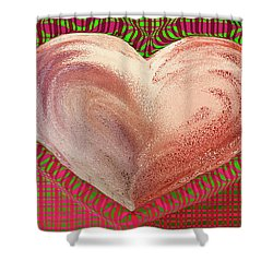 The Passionate Heart Shower Curtain