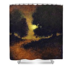 The Path Less Trod Shower Curtain