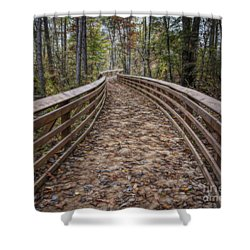 The Path That Leads Shower Curtain