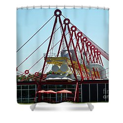 Shower Curtain featuring the photograph The Patscentre by Lyric Lucas