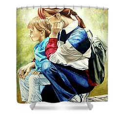 The Peace - La Paz Shower Curtain