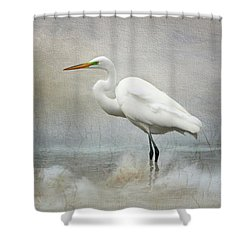 The Peace Of Wild Things Rectangle Shower Curtain