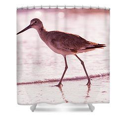 The Peace Piper Shower Curtain