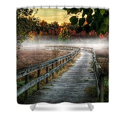 The Peaceful Path Shower Curtain
