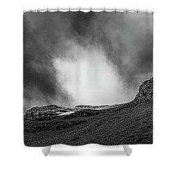 The Peak Tree Shower Curtain