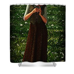 The Peasant Girl... Shower Curtain by Tim Fillingim
