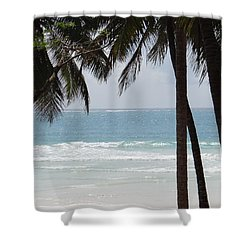 The Perfect Beach Shower Curtain