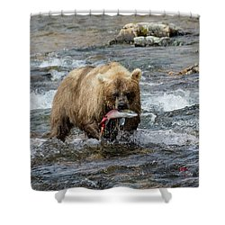 The Perfect Catch Shower Curtain